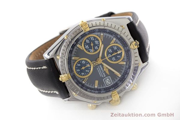 Used luxury watch Breitling Chronomat chronograph steel automatic Kal. B2 ETA 7750 Ref. B13050.1  | 161235 03