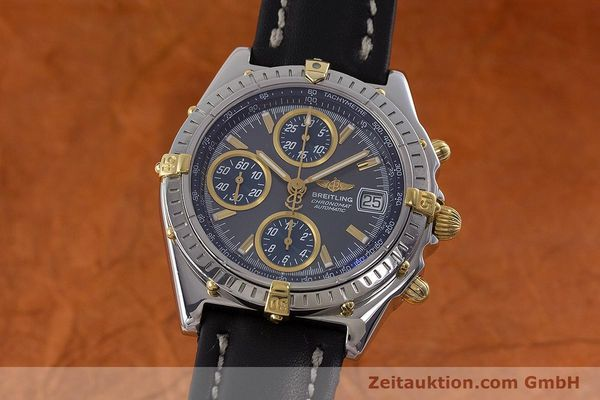 Used luxury watch Breitling Chronomat chronograph steel automatic Kal. B2 ETA 7750 Ref. B13050.1  | 161235 04