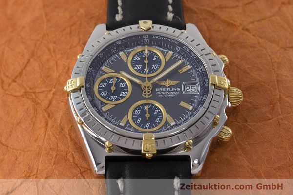 Used luxury watch Breitling Chronomat chronograph steel automatic Kal. B2 ETA 7750 Ref. B13050.1  | 161235 15