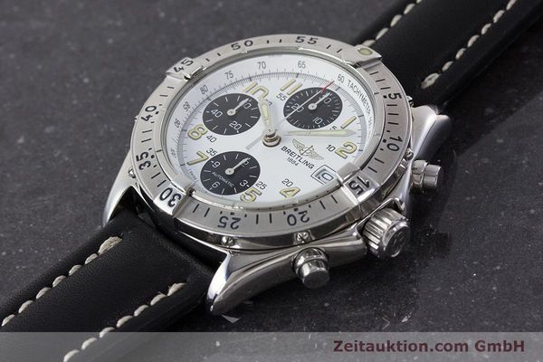 Used luxury watch Breitling Colt chronograph steel automatic Kal. B13 ETA 7750 Ref. A13035.1  | 161238 01