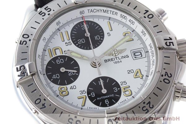 Used luxury watch Breitling Colt chronograph steel automatic Kal. B13 ETA 7750 Ref. A13035.1  | 161238 02