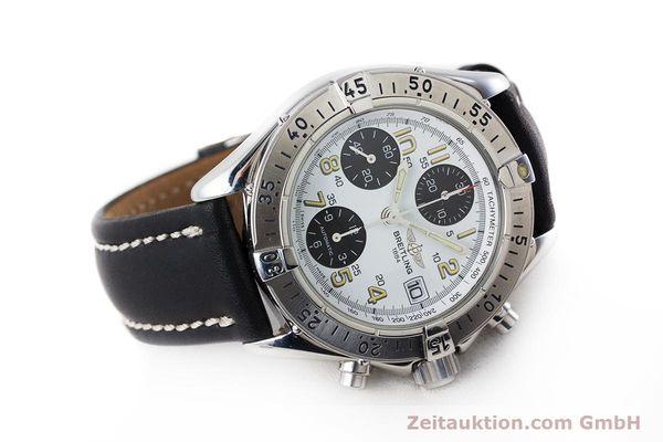 Used luxury watch Breitling Colt chronograph steel automatic Kal. B13 ETA 7750 Ref. A13035.1  | 161238 03