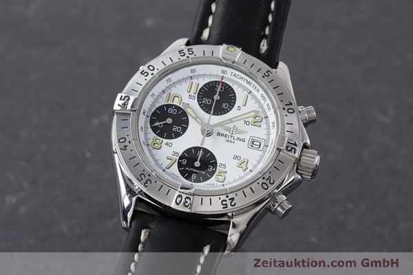 Used luxury watch Breitling Colt chronograph steel automatic Kal. B13 ETA 7750 Ref. A13035.1  | 161238 04