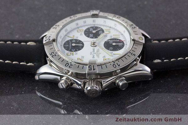 Used luxury watch Breitling Colt chronograph steel automatic Kal. B13 ETA 7750 Ref. A13035.1  | 161238 05