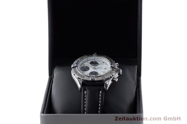 Used luxury watch Breitling Colt chronograph steel automatic Kal. B13 ETA 7750 Ref. A13035.1  | 161238 09