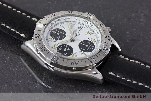 Used luxury watch Breitling Colt chronograph steel automatic Kal. B13 ETA 7750 Ref. A13035.1  | 161238 14