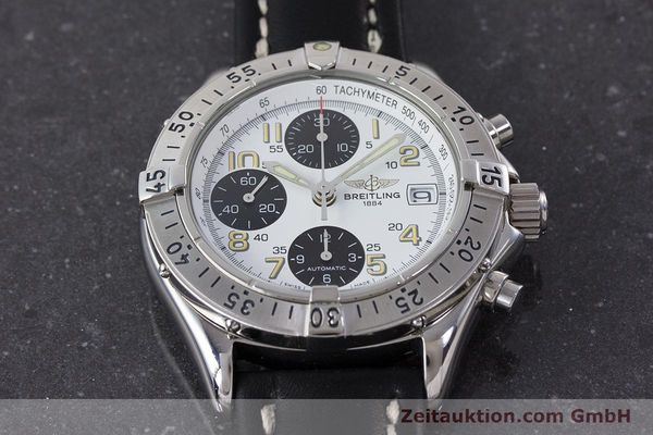 Used luxury watch Breitling Colt chronograph steel automatic Kal. B13 ETA 7750 Ref. A13035.1  | 161238 15