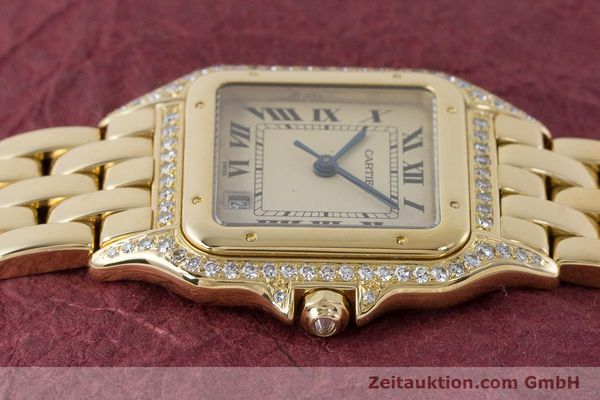 Used luxury watch Cartier Panthere 18 ct gold quartz  | 161239 05