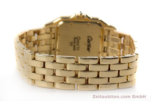 gebrauchte Luxusuhr Cartier Panthere 18k Gold Quarz  | 161239 10
