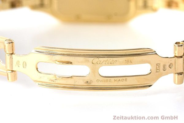 Used luxury watch Cartier Panthere 18 ct gold quartz  | 161239 11