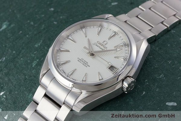 Used luxury watch Omega Seamaster steel automatic Kal. 8500 Ref. 23110392102001  | 161245 01