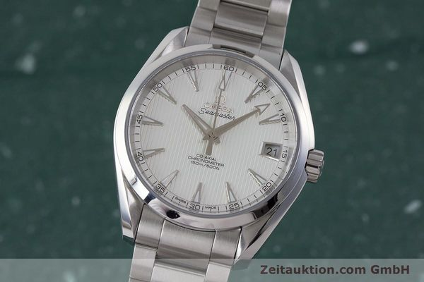 Used luxury watch Omega Seamaster steel automatic Kal. 8500 Ref. 23110392102001  | 161245 04