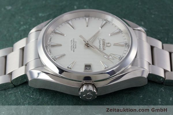 Used luxury watch Omega Seamaster steel automatic Kal. 8500 Ref. 23110392102001  | 161245 05
