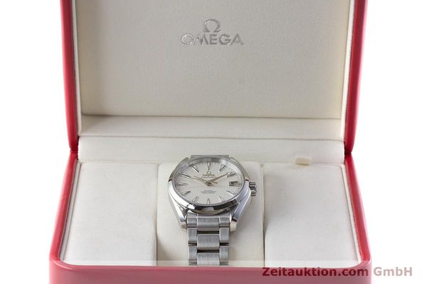 Used luxury watch Omega Seamaster steel automatic Kal. 8500 Ref. 23110392102001  | 161245 07