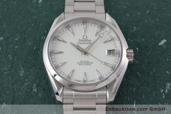 Used luxury watch Omega Seamaster steel automatic Kal. 8500 Ref. 23110392102001  | 161245 17
