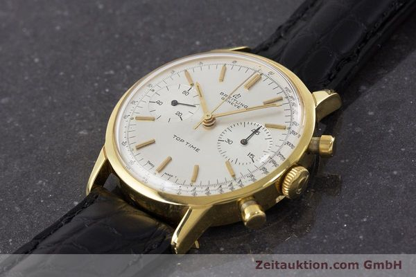 Used luxury watch Breitling Top Time chronograph gold-plated manual winding Kal. Venus 188 Ref. 2000 VINTAGE  | 161247 01