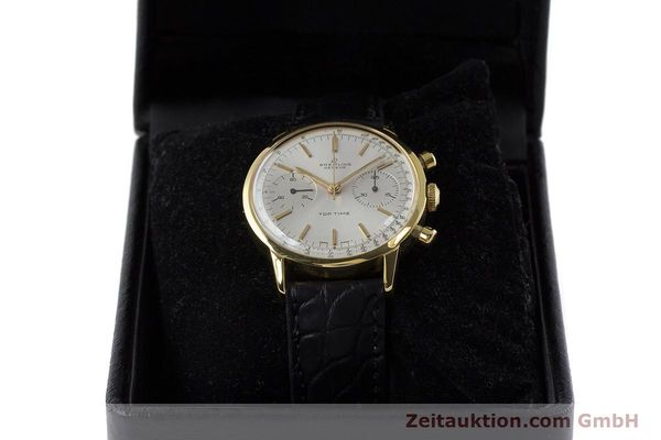 Used luxury watch Breitling Top Time chronograph gold-plated manual winding Kal. Venus 188 Ref. 2000 VINTAGE  | 161247 07
