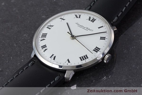 Used luxury watch IWC Portofino steel manual winding Kal. 402 Ref. 1410 VINTAGE  | 161248 01