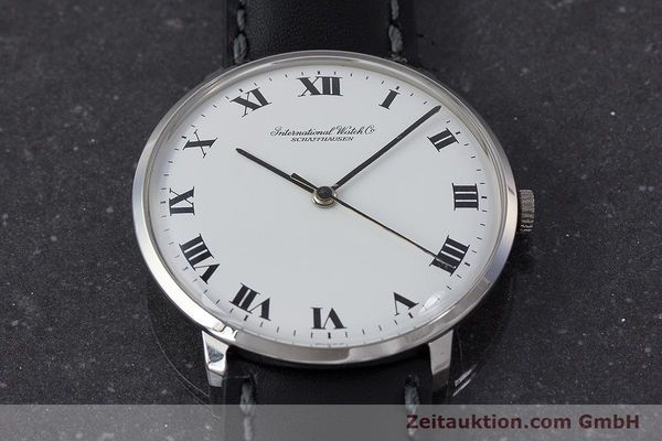 Used luxury watch IWC Portofino steel manual winding Kal. 402 Ref. 1410 VINTAGE  | 161248 14