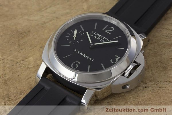 Used luxury watch Panerai Luminor Marina steel manual winding Kal. ETA B99501 Ref. OP6567  | 161251 01