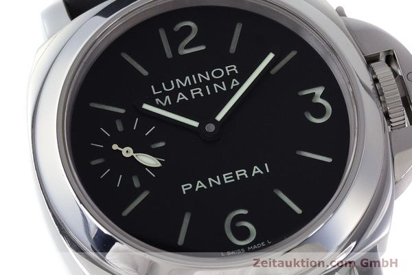 Used luxury watch Panerai Luminor Marina steel manual winding Kal. ETA B99501 Ref. OP6567  | 161251 02
