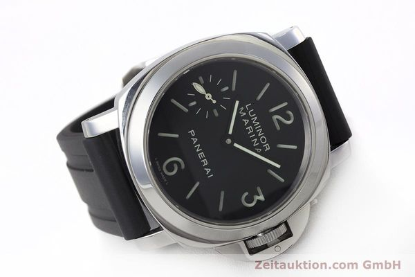 Used luxury watch Panerai Luminor Marina steel manual winding Kal. ETA B99501 Ref. OP6567  | 161251 03