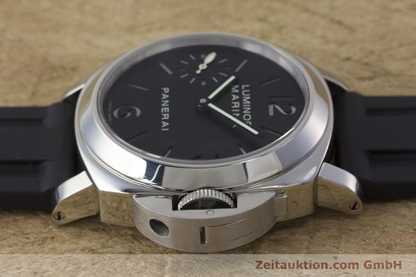 Used luxury watch Panerai Luminor Marina steel manual winding Kal. ETA B99501 Ref. OP6567  | 161251 05