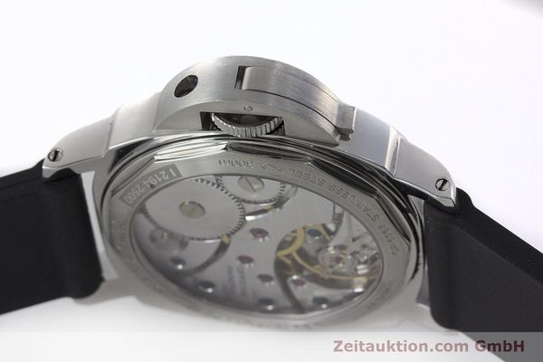Used luxury watch Panerai Luminor Marina steel manual winding Kal. ETA B99501 Ref. OP6567  | 161251 11