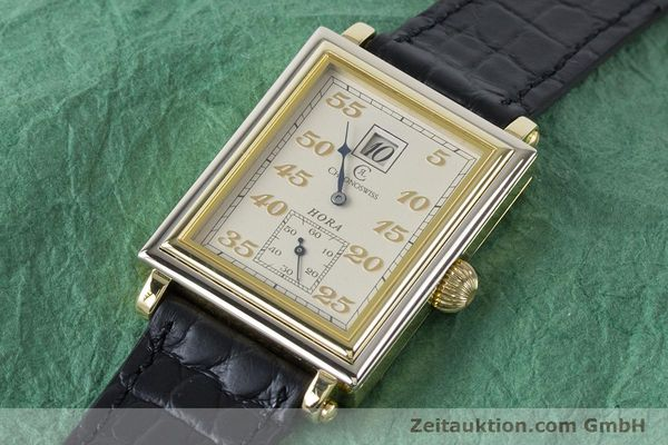 Used luxury watch Chronoswiss Hora 18 ct gold manual winding Ref. CH1351  | 161257 01