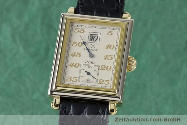 Used luxury watch Chronoswiss Hora 18 ct gold manual winding Ref. CH1351  | 161257 04