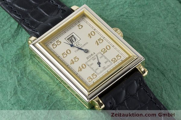 Used luxury watch Chronoswiss Hora 18 ct gold manual winding Ref. CH1351  | 161257 12