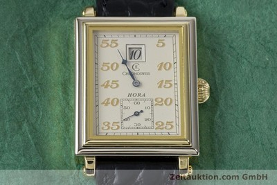 CHRONOSWISS HORA 18 CT GOLD MANUAL WINDING LP: 12800EUR [161257]