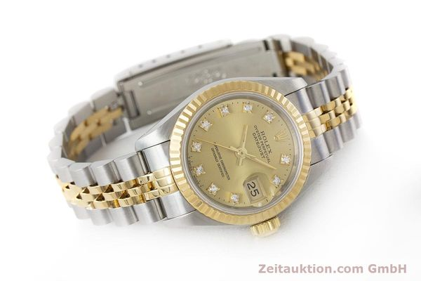 Used luxury watch Rolex Lady Datejust steel / gold automatic Kal. 2135 Ref. 69173  | 161258 03