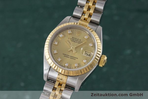 ROLEX LADY DATEJUST STEEL / GOLD AUTOMATIC KAL. 2135 LP: 9200EUR [161258]