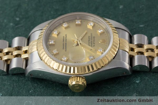 Used luxury watch Rolex Lady Datejust steel / gold automatic Kal. 2135 Ref. 69173  | 161258 05