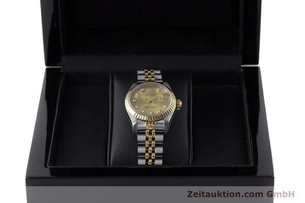 Used luxury watch Rolex Lady Datejust steel / gold automatic Kal. 2135 Ref. 69173  | 161258 07