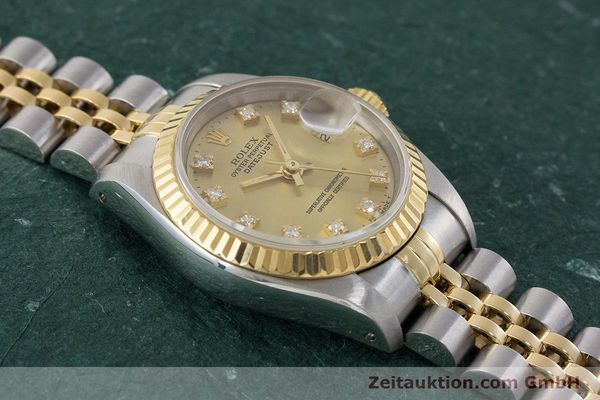 Used luxury watch Rolex Lady Datejust steel / gold automatic Kal. 2135 Ref. 69173  | 161258 14