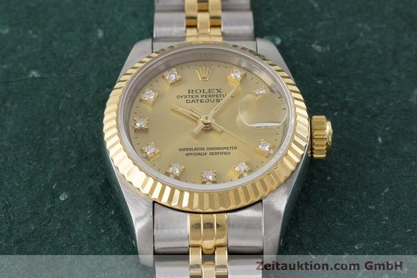 Used luxury watch Rolex Lady Datejust steel / gold automatic Kal. 2135 Ref. 69173  | 161258 15