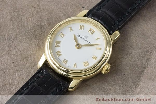 Used luxury watch Blancpain Ladybird 18 ct gold manual winding Kal. 610  | 161263 01