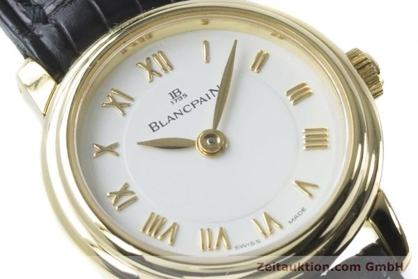 Used luxury watch Blancpain Ladybird 18 ct gold manual winding Kal. 610  | 161263 02