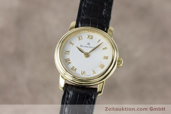 Used luxury watch Blancpain Ladybird 18 ct gold manual winding Kal. 610  | 161263 04