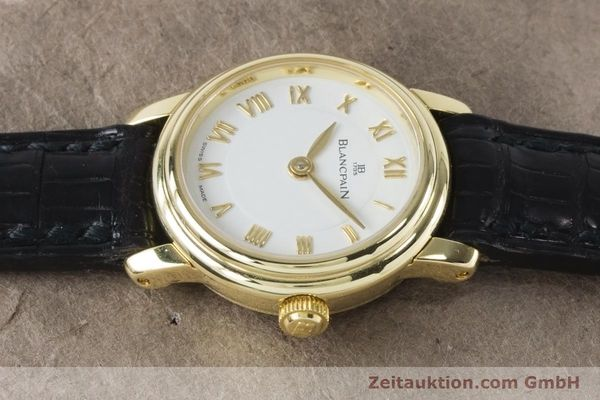 Used luxury watch Blancpain Ladybird 18 ct gold manual winding Kal. 610  | 161263 05