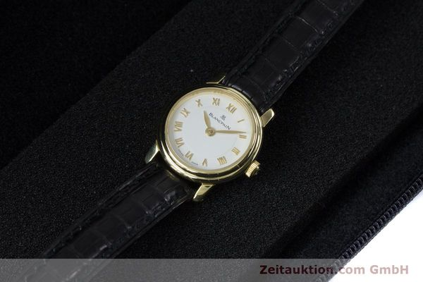 Used luxury watch Blancpain Ladybird 18 ct gold manual winding Kal. 610  | 161263 07