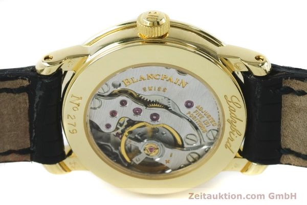 Used luxury watch Blancpain Ladybird 18 ct gold manual winding Kal. 610  | 161263 10