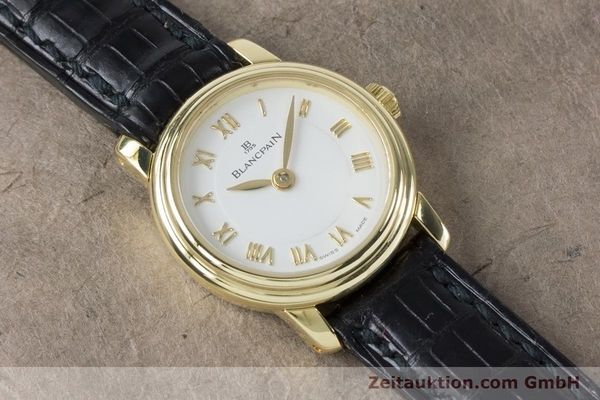Used luxury watch Blancpain Ladybird 18 ct gold manual winding Kal. 610  | 161263 16