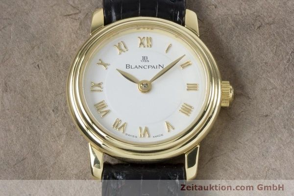 Used luxury watch Blancpain Ladybird 18 ct gold manual winding Kal. 610  | 161263 17