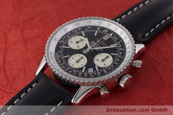 Used luxury watch Breitling Navitimer chronograph steel automatic Kal. B23 ETA 7753 Ref. A23322  | 161266 01