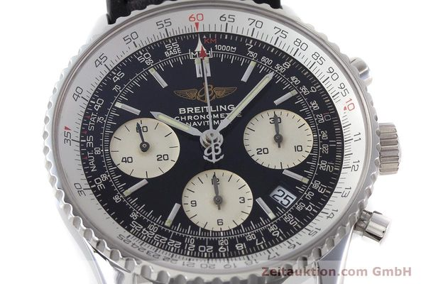 Used luxury watch Breitling Navitimer chronograph steel automatic Kal. B23 ETA 7753 Ref. A23322  | 161266 02
