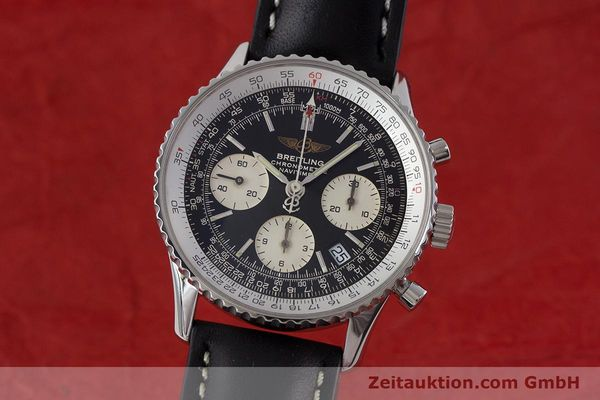 Used luxury watch Breitling Navitimer chronograph steel automatic Kal. B23 ETA 7753 Ref. A23322  | 161266 04