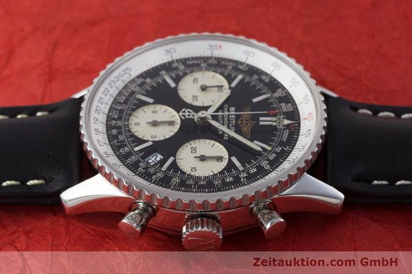 Used luxury watch Breitling Navitimer chronograph steel automatic Kal. B23 ETA 7753 Ref. A23322  | 161266 05